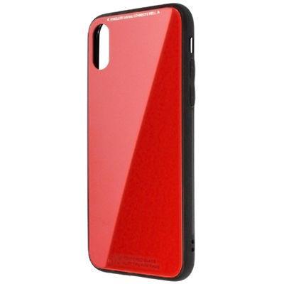 日本トラストテクノロジー ワイヤレス充電対応ケース for iPhoneX レッド TPU・・・