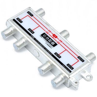 日本トラストテクノロジー TVアンテナ6分配器 JSC-022