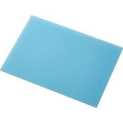 エレコム シリコン×直接メモ書きできるマウスパッド/大きいLサイズ/ブルー (・・・