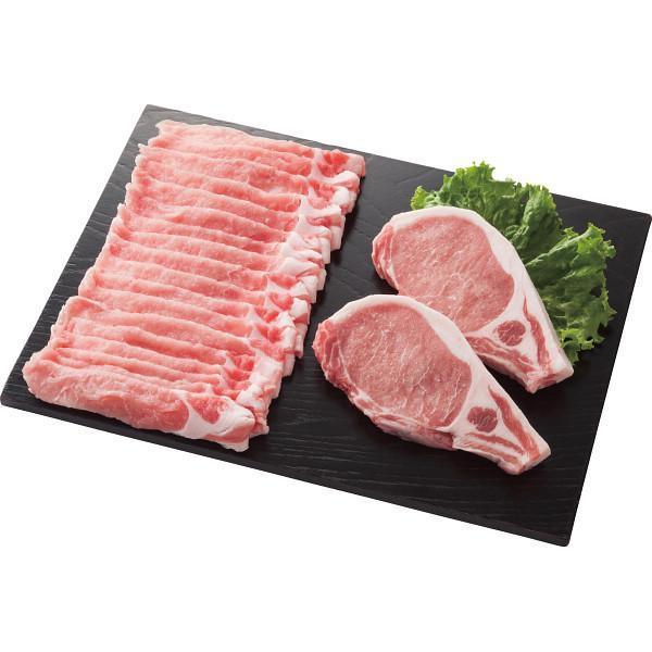 【納期目安:1週間】庄内SPF豚 ロースステーキ&しゃぶしゃぶ用セット 2458815000810