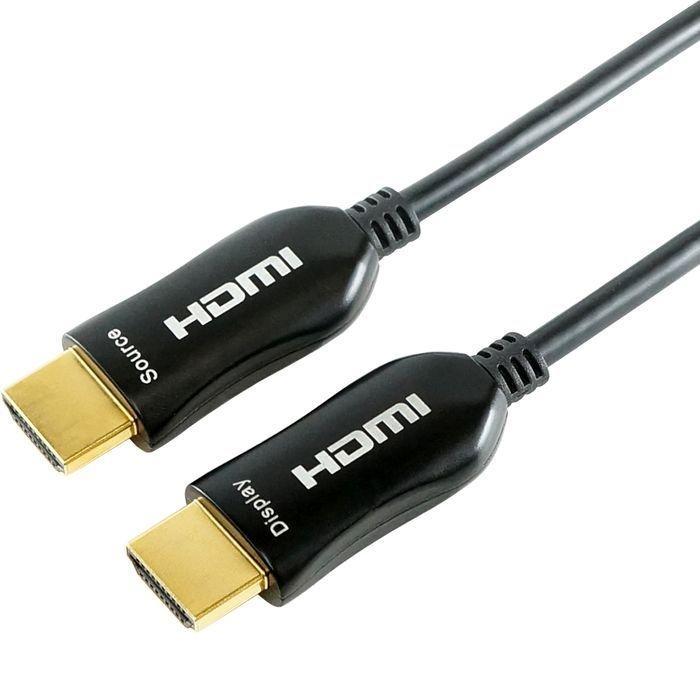 ホーリック 光ファイバー HDMIケーブル 15m 4K/60p(4:4:4) 3D HEC ARC リンク・・・