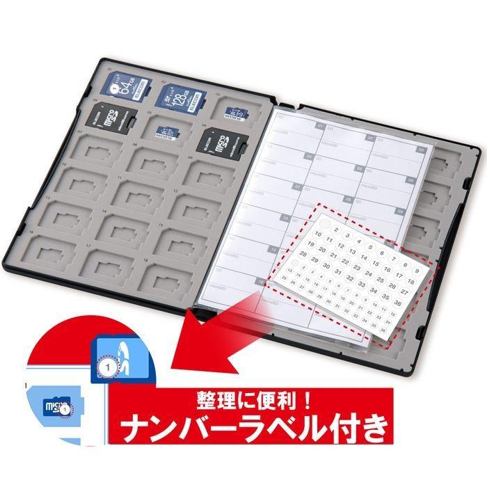エレコム DVD トールケース型 マイクロSDカード・SDカードケース 72枚収納(SD・・・
