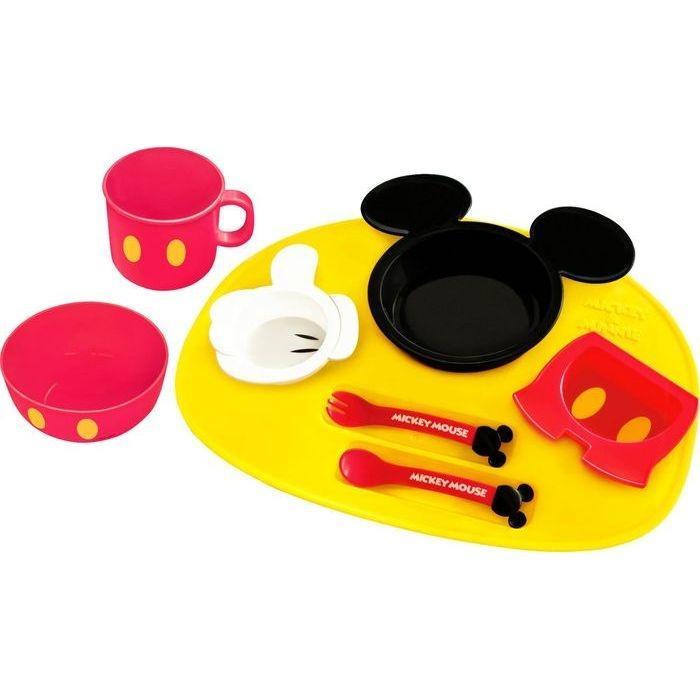 錦化成 ミッキーマウス アイコン ベビー食器セット 4904121306712