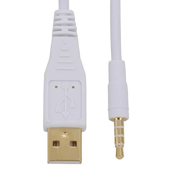 オーム電機 (iPod対応)USBケーブル 1m IP-C10FU-W