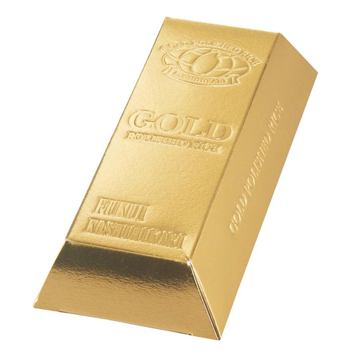 【100個セット】ゴールドバーお米ボックス1合 2475044