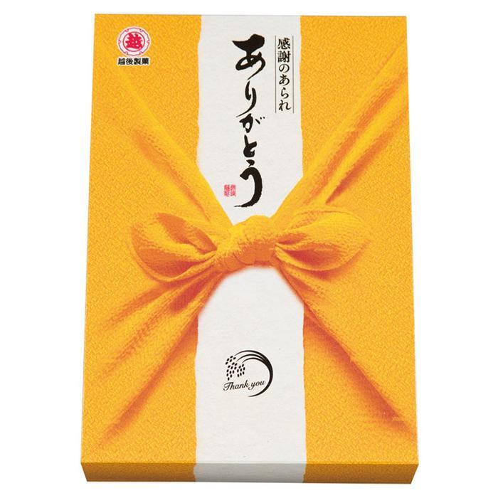 【30個セット】越後製菓 感謝のあられ~ありがとう~40g(黄色) 2560060