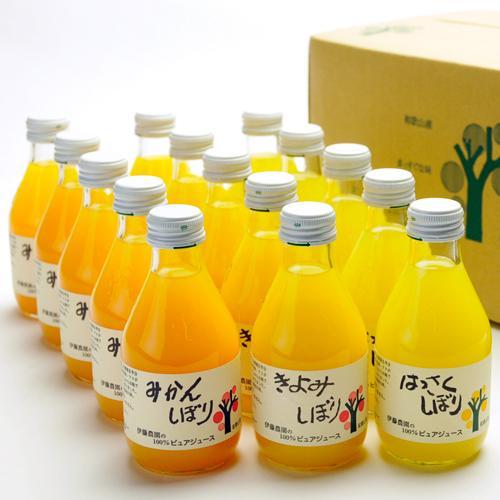 伊藤農園 100%ピュアジュース180ml×15本 508_