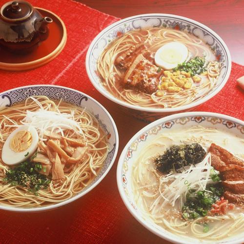 3つの味の博多ラーメン10食 M-9284