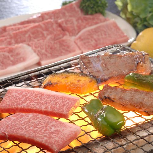 但馬牛焼肉もも・バラ200g M-9286
