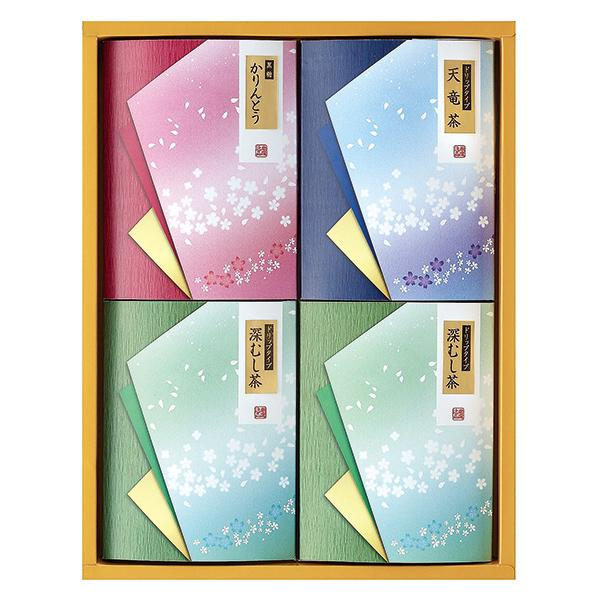 ドリーム ドリップ緑茶・かりんとう詰合せ(包装・のし可) W22-123-07