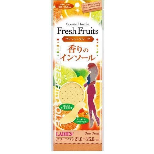 不動技研 香りのインソール フレッシュフルーツ 女性用(21.0~26.0cm) C1579 ・・・