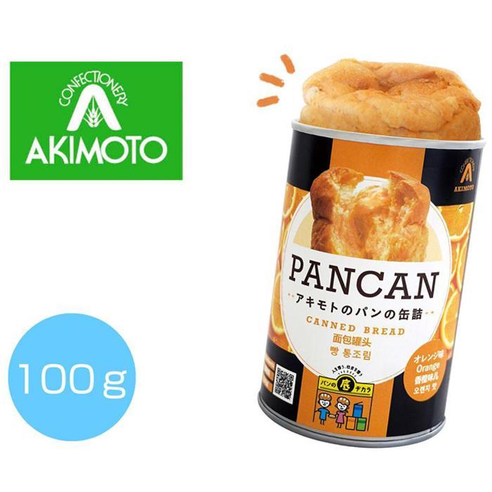 【72個セット】パンの缶詰(多言語版)オレンジ100g 2475234