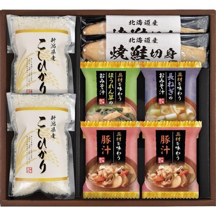 新潟県産こしひかり 食卓彩セット KFK-30(包装・のし可) 4983740102042