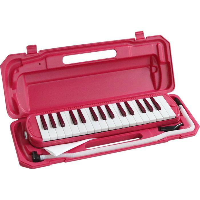 KC 鍵盤ハーモニカ メロディー ピアノ 鍵ハモ 小学校 幼稚園 音楽 P3001-32K/VPK (ビビッドピンク) 4534853508780