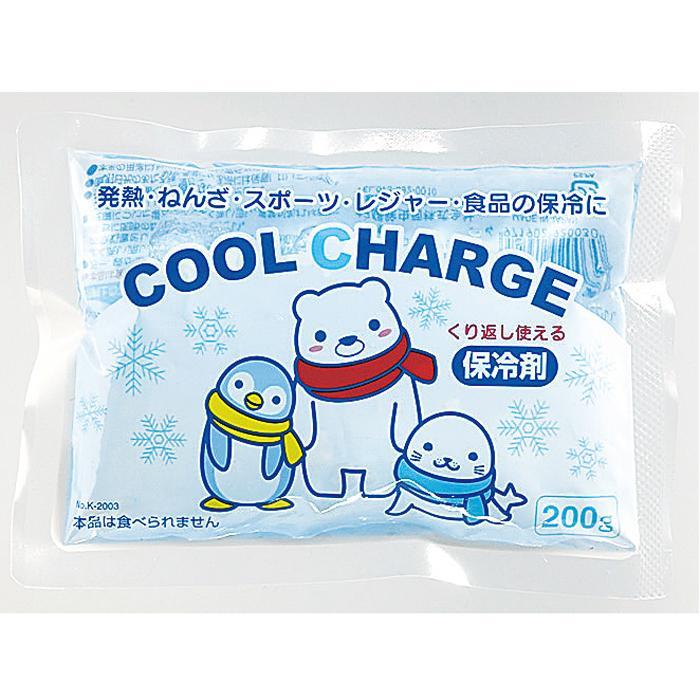 【100個セット】クールチャージ保冷剤200g 2214789