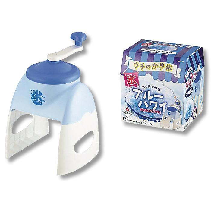 【12個セット】おウチで簡単かき氷器1台(ブルー) 2214804