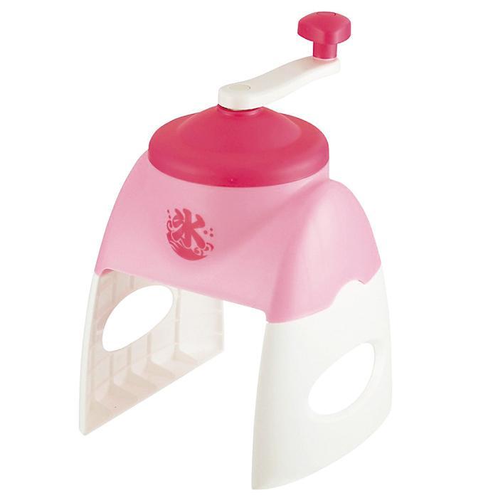 【12個セット】おウチで簡単かき氷器1台(ピンク) 2214806