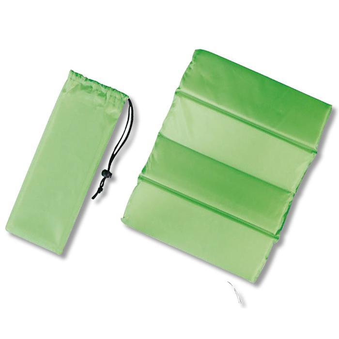 【120個セット】クッションシート(巾着付き)1個(グリーン) 2214861