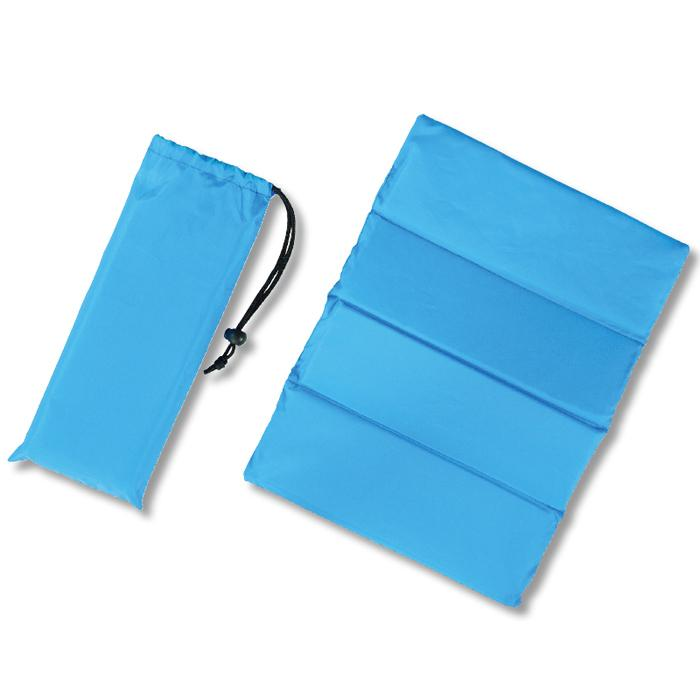 【120個セット】クッションシート(巾着付き)1個(ブルー) 2214862