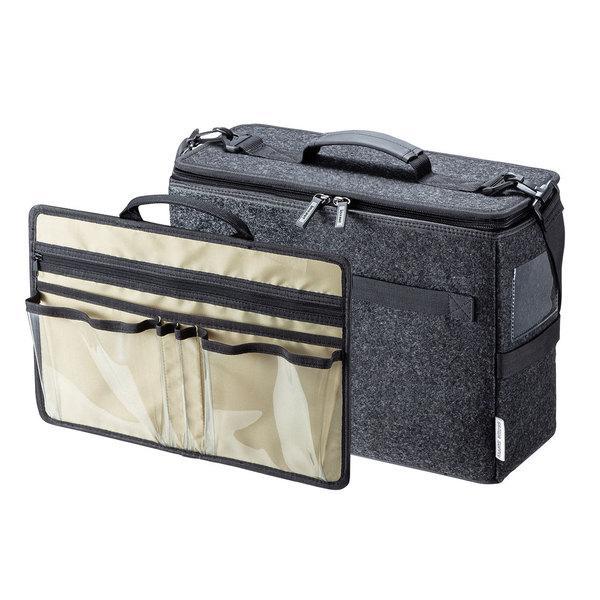 サンワサプライ テレワークBOXバッグ BAG-TW1BK-BG