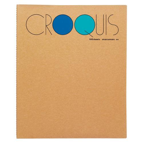 マルマン クロッキーブック M ブルー SM-02(ブルー) (1冊) 4979093000708
