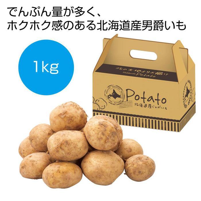 【16個セット】北海道産男爵いも1kg 2561020
