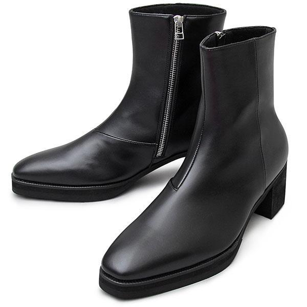 モードな足元に洗練された存在感をプラスする1足 ブラック S(25.0cm-25.5cm) ・・・