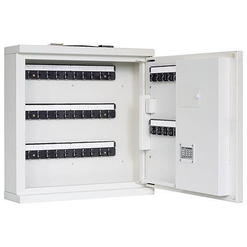 【納期目安:2週間】ICカード式キーボックス 本体 KB-RFE-40 7-3398-01