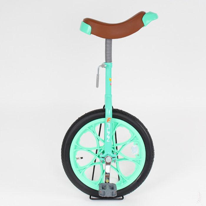21Technology 一輪車 16インチ 子供用プレゼント スタンド付き (一輪車IR16-グリーン) 4562320218733