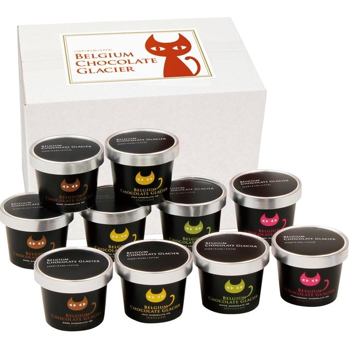 イーペルの猫祭り ベルギーチョコレートグラシエ(アイス職人) AH-BCGR(包装・・・・