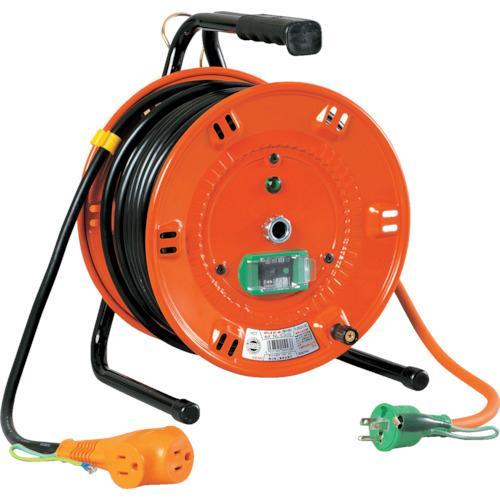 日動工業 日動 電工ドラム びっくリール 100V アース漏電しゃ断器付 30m NL-EB30S