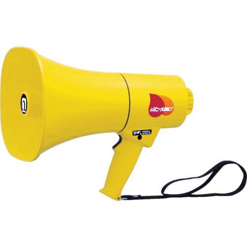 ノボル電機製作所 ノボル レイニーメガホン15W 防水仕様 ホイッスル音付き(電池別売) 4543853000347