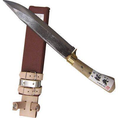 五十嵐刃物工業 鋼典 安来鋼付 山鉈 片刃ツバ付 完全包装 495382120224・・・