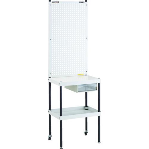 トラスコ中山 TRUSCO ライトパンチングパネル パネリーナ テーブル型 引出付・・・