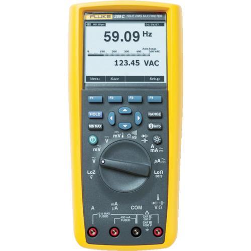 トラスコ中山 FLUKE デジタルマルチメーター289(真の実効値トレンド・キャプチャー付) tr-7657439