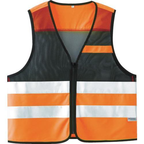 ミドリ安全 高視認性安全ベスト 蛍光オレンジ tr-8219514