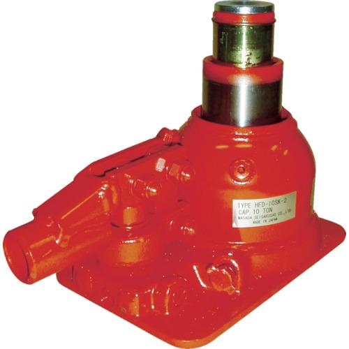 トラスコ中山 マサダ 二段式油圧ジャッキ(超低床式) HFD10SK2
