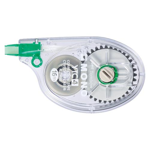トンボ鉛筆 修正テープ横引き モノYTC4 CT-YTC4 (1個) 4901991702545