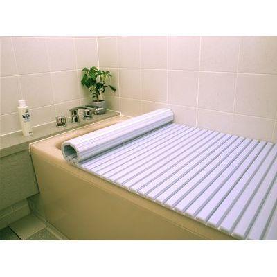 東プレ 風呂ふた シャッター式 (75×140cm用) ブルー L14 (巻きフタ) 4904892011914