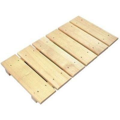 星野工業 すのこ 板 木製 多目的スノコ 28×56cm No.3 (風呂 押入れ) 4977605016438