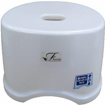 レック 風呂椅子 (フローリスト)Florist 高さ25cm ホワイト (バスチェア 風呂・・・