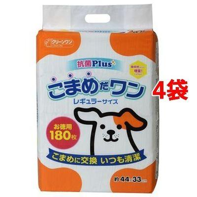 シーズイシハラ 【ケース販売】クリーンワン こまめだワン レギュラー 180枚・・・