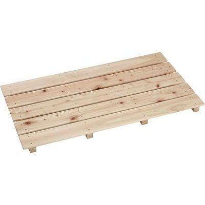 池川木材工業 桧すのこ(中)袋なし4本足 85X46.5 4906056051248