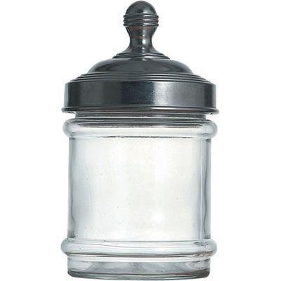DULTON(ダルトン) アルミキャップガラスキャニスター(100-030 無地) AKY3501 100-030 無地