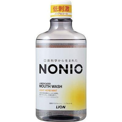 ライオン NONIO(ノニオ) マウスウォッシュ ノンアルコール ライトハーブミン・・・