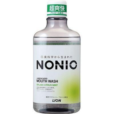 ライオン NONIO(ノニオ) マウスウォッシュ スプラッシュシトラスミント 600ml・・・