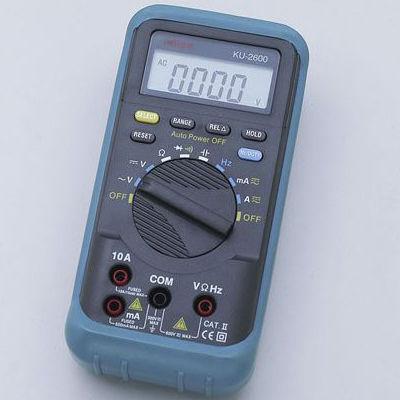 ELPA デジタルマルチテスター KU-2600