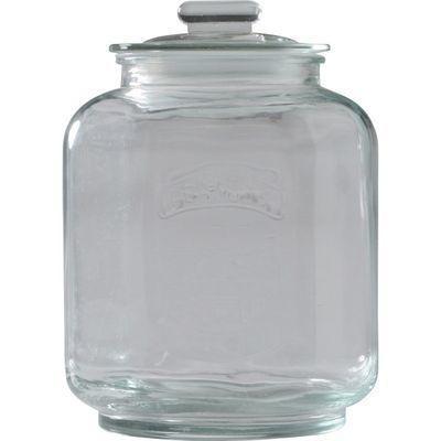 不二貿易 ガラスキャニスター ナッツ M K1304095-2【6個セット】 FJ-71504