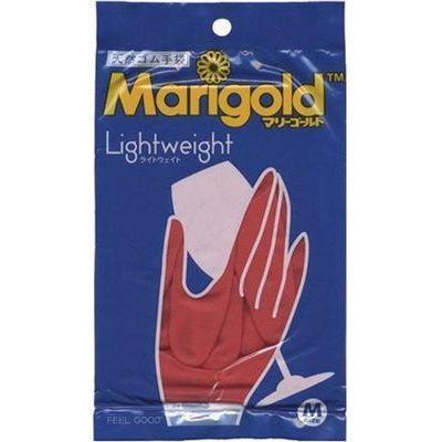 【納期目安:2週間】シイノ通商 マリーゴールドゴム手袋M (レッド) 414099 4970520414099