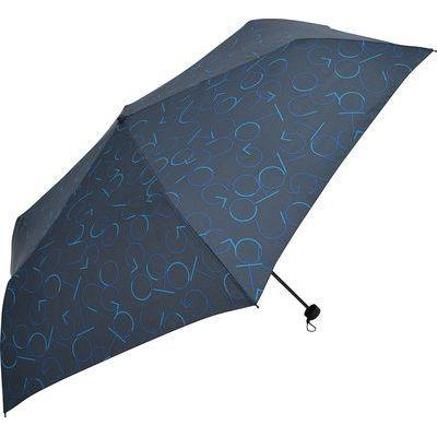 Nifty Colors 折りたたみ傘 GO OUT ネイビー 6本骨 60cm FF-04055